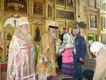Венчание в древлеправославной церкви в покровском храме